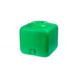 Бак Душевой 100 л зеленый куб