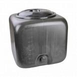 Бак Душевой 150 л. черный куб (500х500х660)